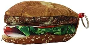 DCI Yummy Pocket Zip Coin Purse, Hamburger