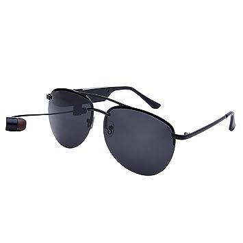 KASIQIWA Gafas de Sol Inteligentes Bluetooth, Gafas ...