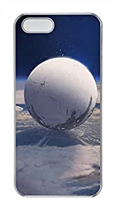 iPhone 5S/5 Case,Clear,Hard PC Plastic Case,Scratch-Resistant(Can be customized)New Version Case,Crystal shell,Back Cover Snap on Case,Unqiue design-Destiny Game Poster 28L
