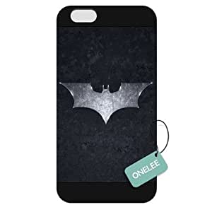 Onelee - Customized Batman iPhone 6 Plus 5.5 Hard Plastic case cover - Black 10 by runtopwell