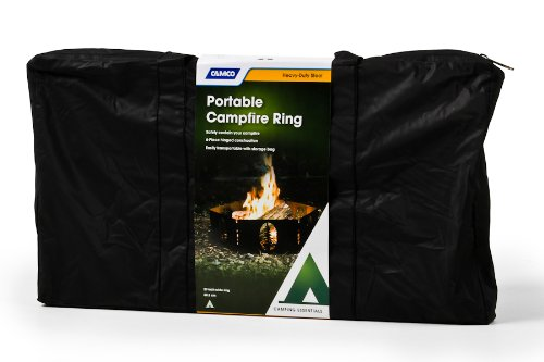 Campfire Ring Storage Bag made our list of Campfire Cooking Equipment You Can't Live Without with the best tools, accessories, utensils and cookware for your camp cooking creations!