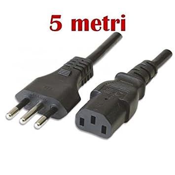 Cable Alimentación tripolar para Computer, Monitor ...
