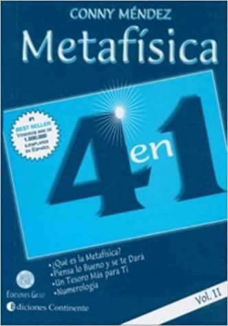 Metafisica 4 En 1 Vol Ii Spanish Edition Mendez Conny 9789507540998 Books