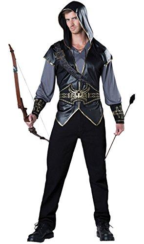 (Incharacter Costumes Men's Hooded Huntsman Costume)
