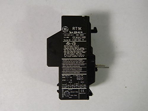 General Electric RT1K Overload Relay 2.5-4.1amp ! WOW !