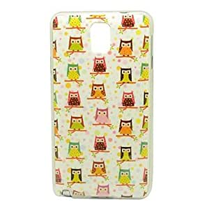 MOM ships in 48 hours Multiple Birds On Branches Pattern IMD Craft Smooth TPU Case for Samsung Galaxy Note 3 N9000
