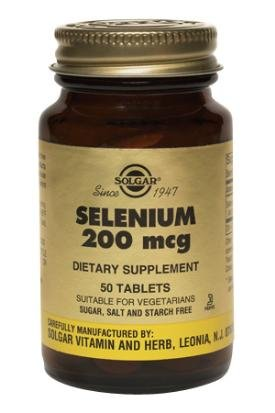 Solgar - Sélénium, 200 mcg, 250 comprimés