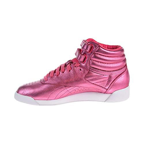 Pink Reebok White white Classic Trainers Sharp Womens PTgvq