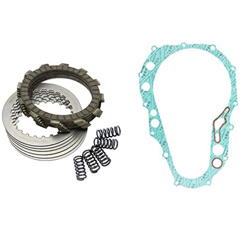 Tusk Heavy Duty Clutch Kit with Springs and Clutch Cover Gasket - Fits: Suzuki RM85 RM85L 2002-2019