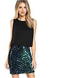 Party Sparkle Sequin Tank Dress
