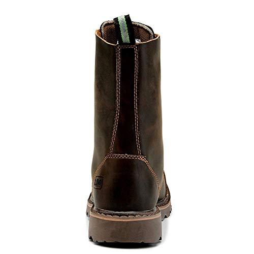 Taille 1 Antistatique en 3 à Bottines Marron Lacets Chaussures pour 27cm Couleur véritable EU Hommes Cuir Étanche 24 Martin 5cm XOXO Marron 39 HT6qpp