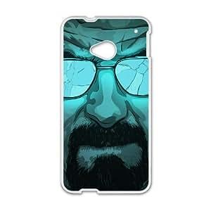 HTC One M7 Cell Phone Case White Walter Artwork T2Q4FG