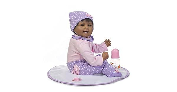 Amazon.com: Muñecas para bebé de 22.0 in con ojos hermosos y ...