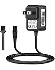 IBERLS 15V Philips HQ8505 Universal Charger for Philips Norelco Shaver 7000 5000 3000 Series Razor Aquatec, Arcitec, Multigroom Beard Trimmer Power Supply Adapter Cord