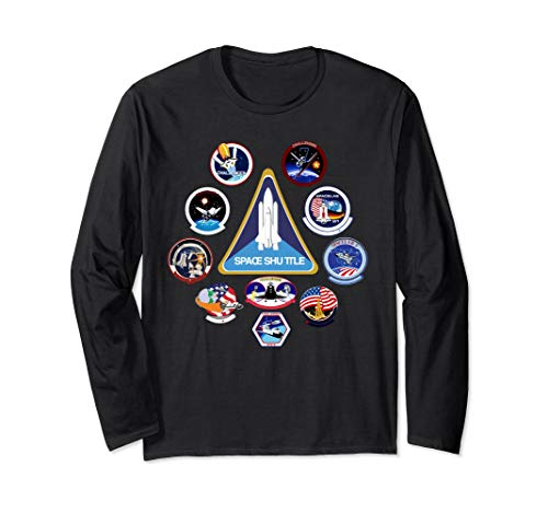 NASA Challenger Space Program Mission Patches T-Shirt