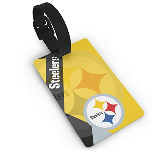 - Dalean Pittsburgh Steelers Shadow Features Unisex Luggage Tags,Soft Duffel Bag Label