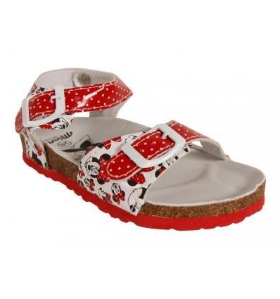 Sandales pour Fille DISNEY 2302-1037 ROJO-BLANCO