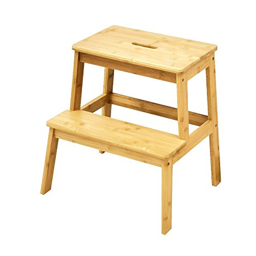 Price comparison product image The Urban Port Natural Styled Bamboo Stool