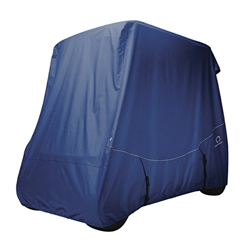 UPC 052963016161, Classic Accessories Fairway Golf Cart FadeSafe Quick Fit Cover, Long Roof, Navy