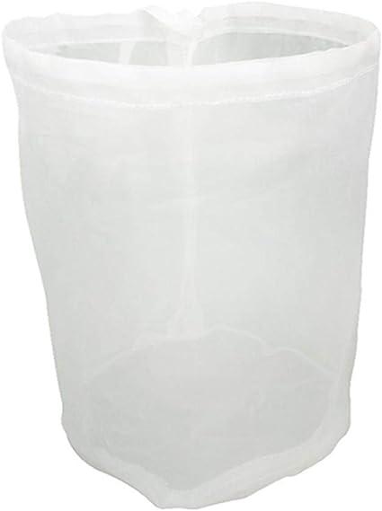 Food Filter Reusable Cotton Milk Nut Fruit Food Strainer Nylon Straining Bag UK