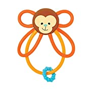 Manhattan Toy Winkel Monkey Rattle & Sensory Teether