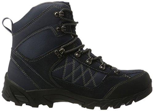 Conway 607418, Zapatos de High Rise Senderismo para Hombre, Azul (Navy/Grau), 43 EU