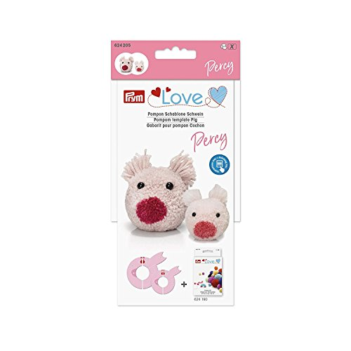 Prym Love Pompom Template Percy The Piggy by Prym Love