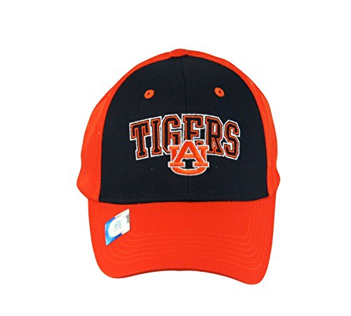 National Cap Men's Champ Arch Auburn Tigers Embroidered Cap