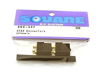 Amazon.com: Square R/C RC Model Hop-ups SQ-SGC-44F Square R/C XT-60