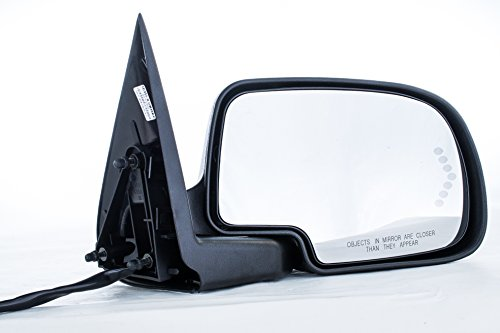 Passenger Side Unpainted Heated Power Folding Door Mirror Cadillac Escalade Chevy Avalanche Silverado Suburban HD Tahoe GMC Sierra Yukon XL 1500 2500 3500 (2000 2001 2002 2003 2004 2005 2006 2007)