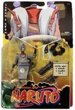 Naruto Shonen Jump Sakon and Ukon Action Figures
