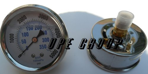 NEW STAINLESS STEEL LIQUID FILLED PRESSURE GAUGE WOG WATE...
