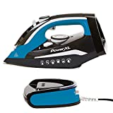 PowerXL Cordless Iron and Steamer Deluxe, Lightweight Dry Steam Iron with Ceramic Ion Soleplate,...