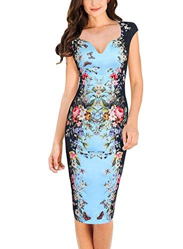 Buy below the knee length bodycon dresses - 5