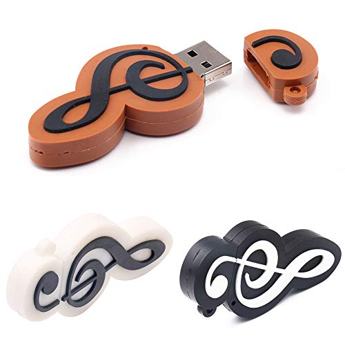 (Mini Universal Creative Musical Note USB Flash Drive Memory Stick U Disk for Computer Laptop - 64mb-64gb Capacity Choices)