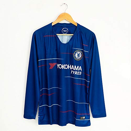 size 40 b3120 25ff8 Thai Version Chelsea Soccer Jersey 2018/19 Home Away Long Sleeve