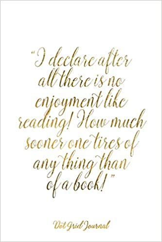 JANE AUSTEN Educational Art Print Quote THERE/'S NO ENJOYMENT LIKE READING