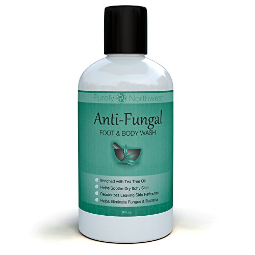 Care Antibacterial (Antifungal Tea Tree Oil Body Wash, Great for Athletes, Foot Care, Body Odor and Toenails. Helps Deodorize- Leaving Skin, Feet and Nails Refreshed and Healthy Looking - 9 oz.)