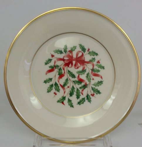 Gold Accent Salad Plate - 3