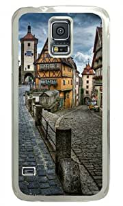 Country Style Scenery-5 Shocklock Samsung Galaxy S5 Transparent Sides Hard Shell Case