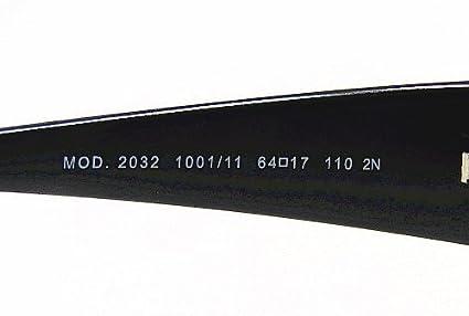 9a2be3e9f2a VERSACE 2032 Black Gunmetal 1001 11 Sunglasses  Amazon.co.uk  Clothing