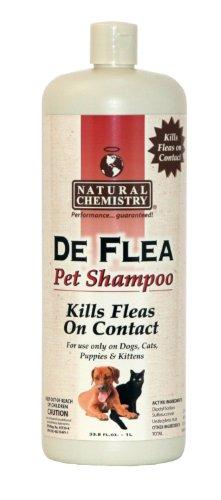 DeFlea Ready to Use Flea & Tick Shampoo for Dogs and Puppies 33.8oz