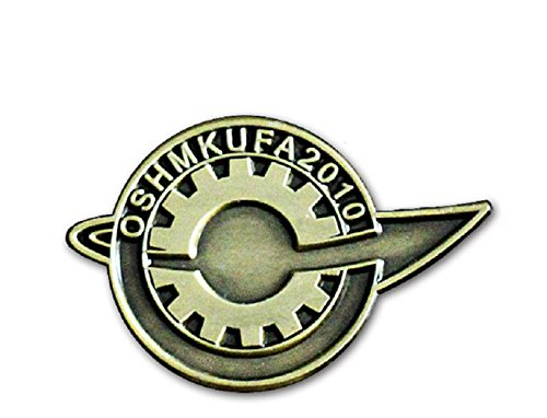 xcoser Steins Gate Badge Lab Member Pin Cosplay Costumes Accessories Prop for Gift
