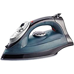 PU Health Pure Acoustics 2 In 1 Power Blast Steam and Dry Iron, Black, 70.87 Gram
