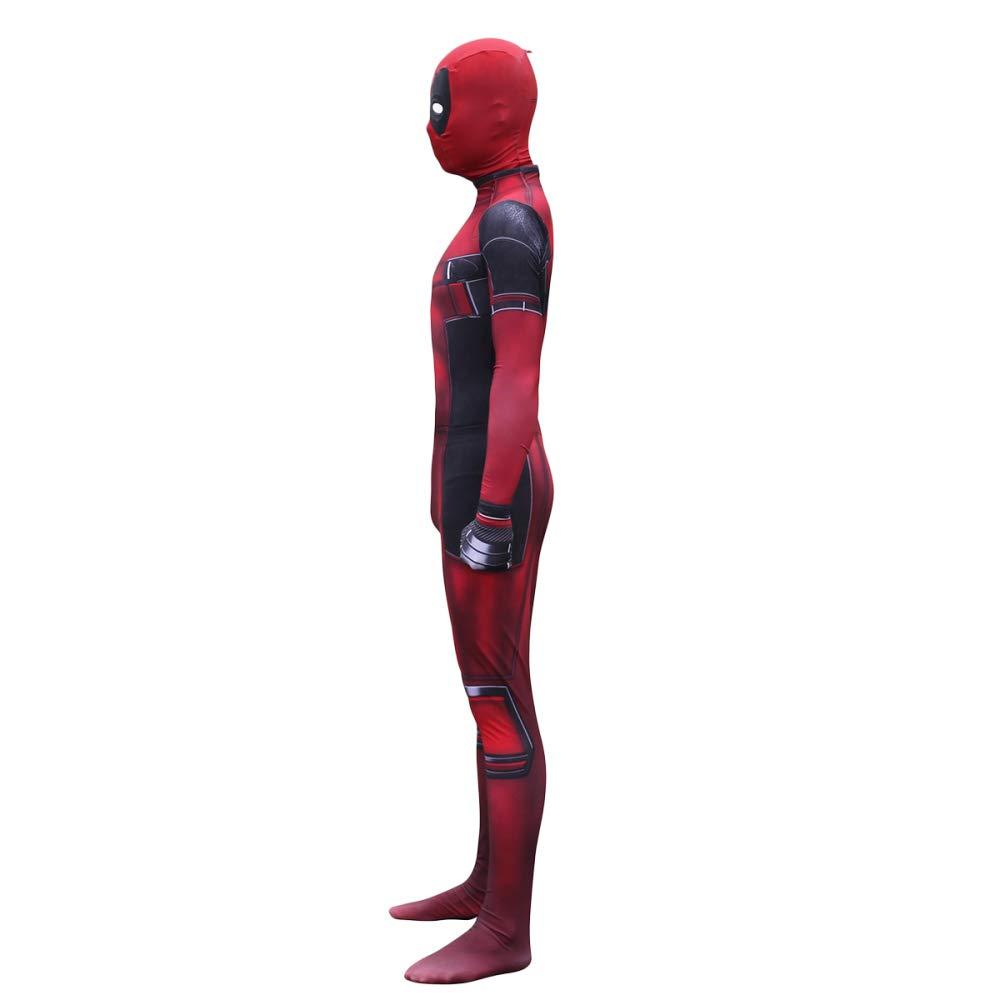 QQWE Deadpool Traje De Cosplay Niños Adultos Disfraz De ...