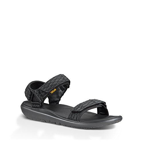 Pour Sportif Teva noir De Et Hommes Vie Air Noir Plein Sandale Universel Style Terra YqO5wa