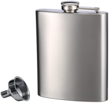 Top Shelf Flasks Stainless Steel Flask & Funnel Set