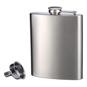 top shelf flasks stainless steel flask u0026 funnel set