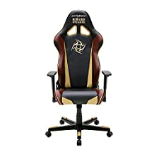 DXRacer Racing Series DOH/RE126/NCC/NIP Ninjas In Pyjamas Racing Bucket Seat Office Chair Gaming Chair Ergonomic Computer Chair Desk Chair Executive Chair With Pillows