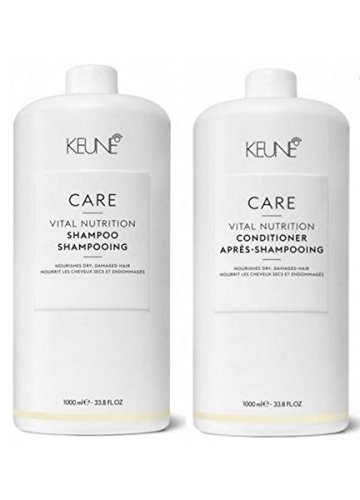 KEUNE Care Line Vital Nutrition Shampoo and Conditioner 33oz ()